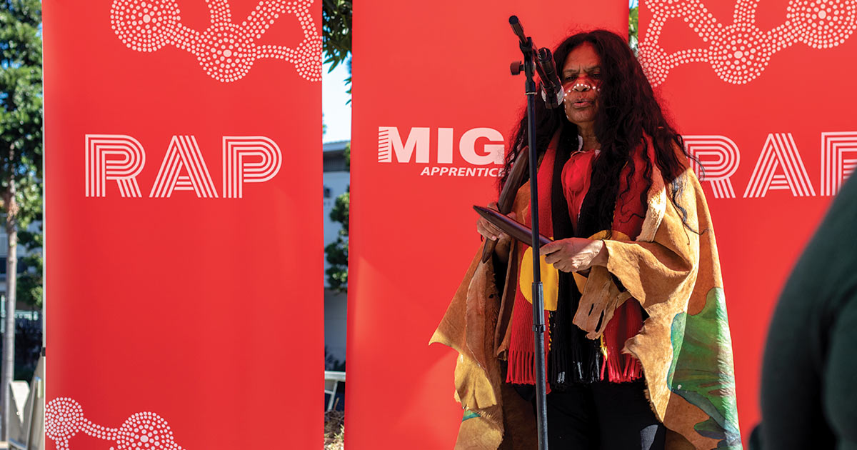 MIGAS celebrates launch of Reconciliation Action Plan