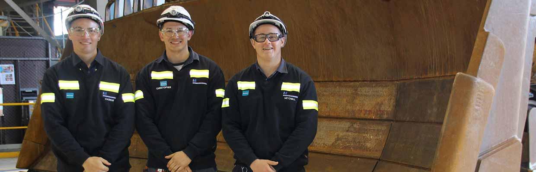 2017 Bengalla Mine Apprenticeship Intake