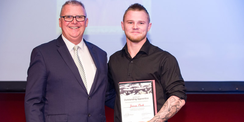 2015 QLD Outstanding Apprentice James Park