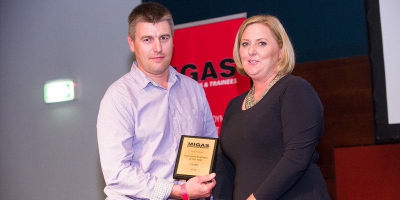 2015 QLD Safe Host of the Year Linfox