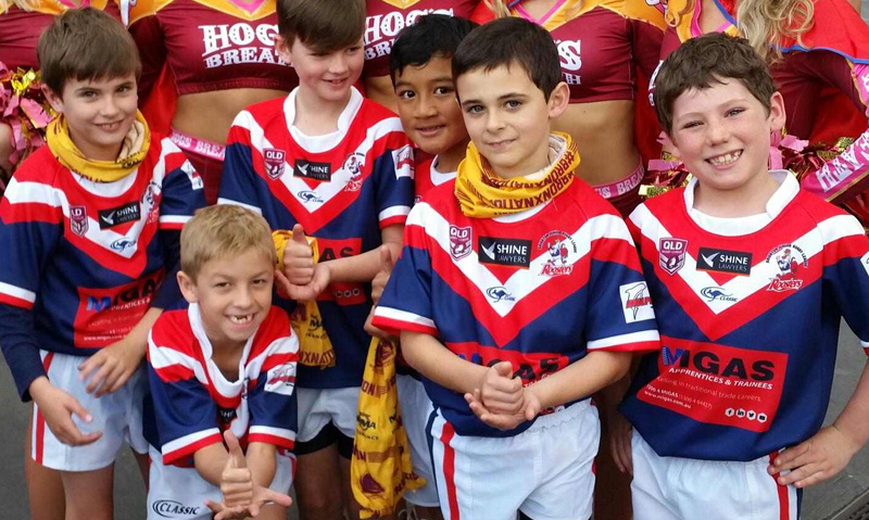 MIGAS is proud to support the Brighton Roosters Junior Rugby League Club