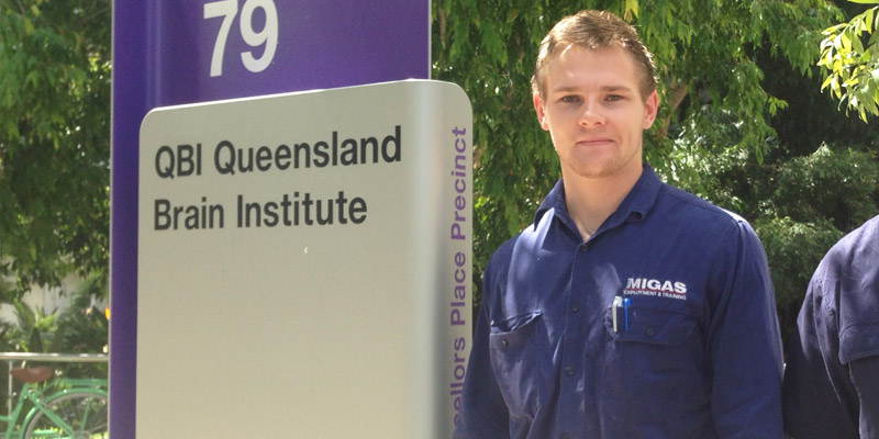 Ethan Park, Fitting and Turning Apprenticeship Brisbane