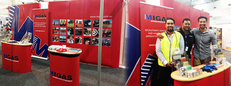 New look MIGAS stand!