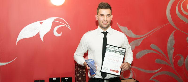 MIGAS VIC Apprentice of the Year - Daniel Van Dyke