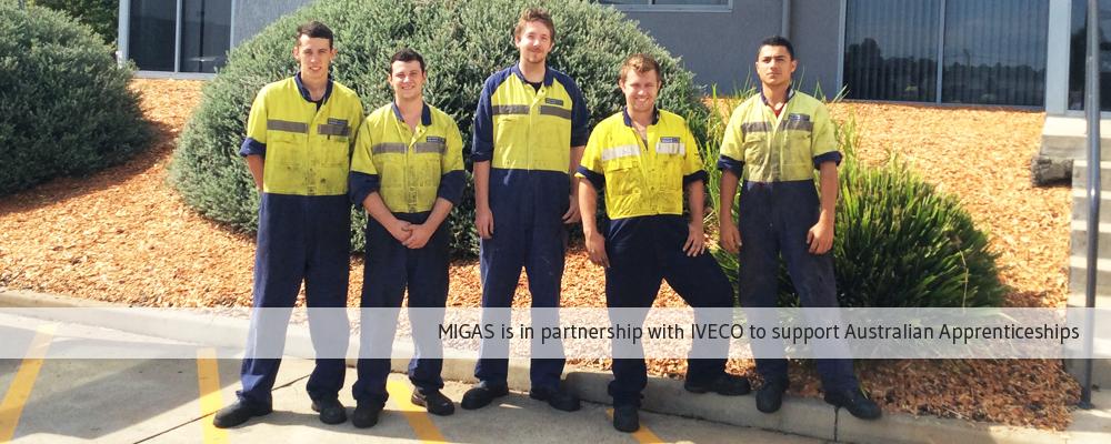 IVECO Australian Apprentices