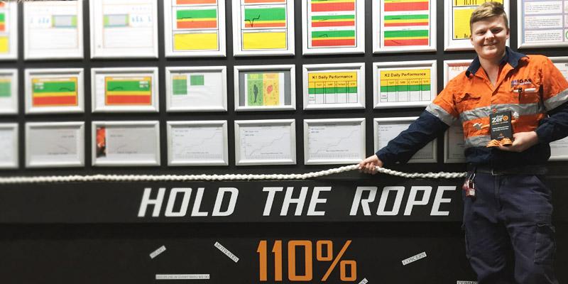 Joshua Newbegin, Fitting and Turning Apprenticeship Brisbane