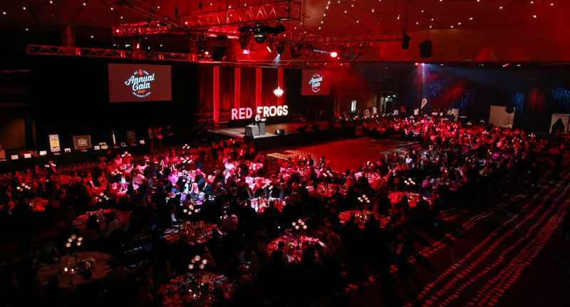 2015 Red Frogs Gala Dinner - photo source: Red Frogs Australia Facebook profile