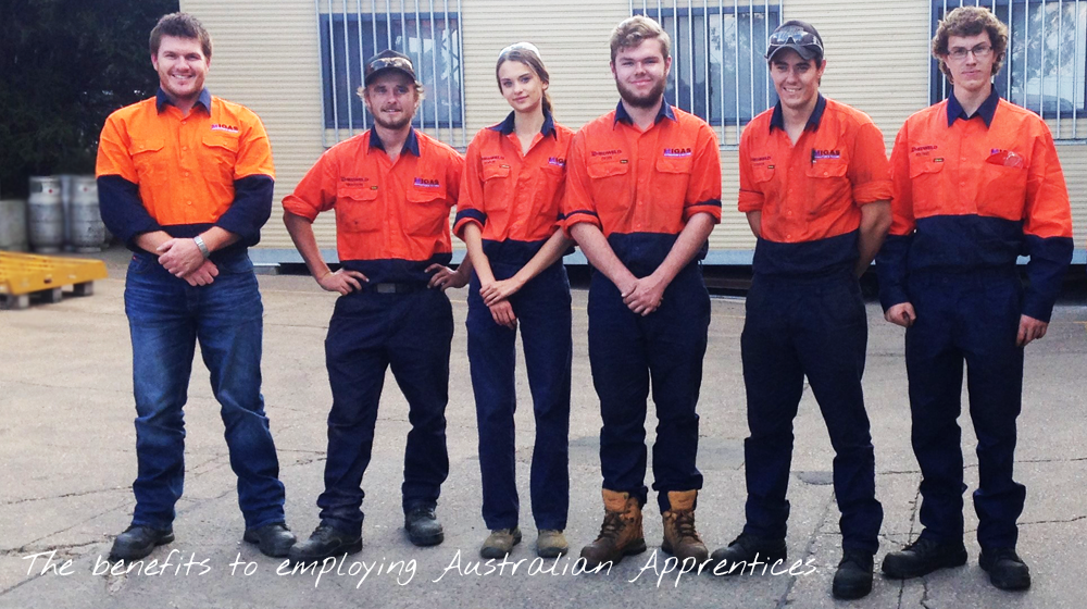 The benefits to employing Australian Apprentices
